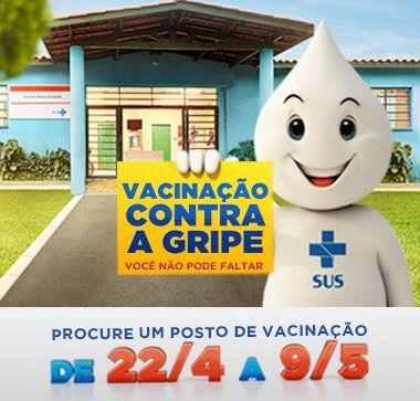 Vacinação contra gripe 2014 – VOCÊ NAO PODE FALTAR!!! QUERIDAS AMIGAS VIVA60, Não deixem de tomar a vacina contra...