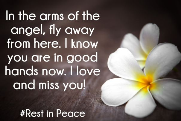 short rest in peace quotes with picture