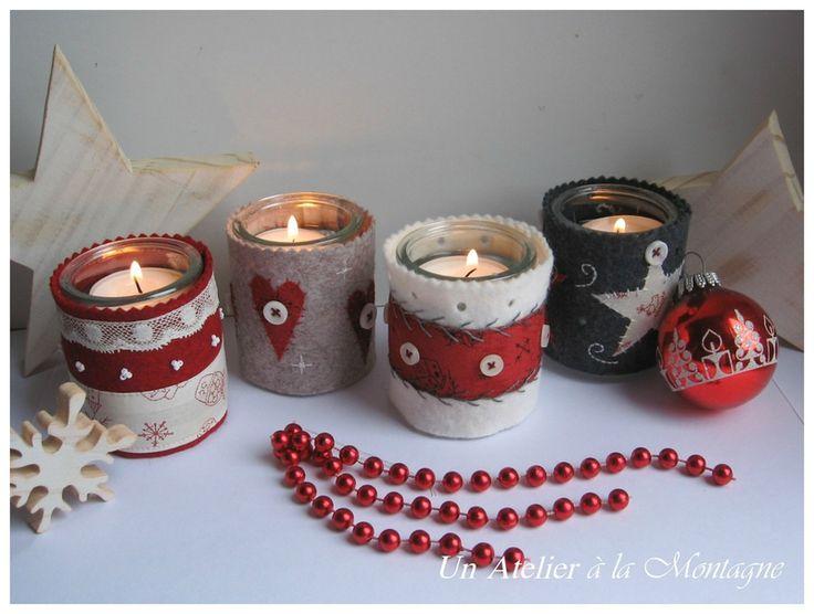 Lumières de Noël, photophores