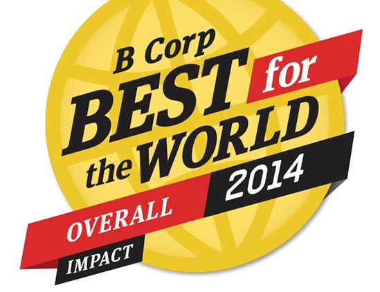 2014 Best for the World Overall Honorees. The B Corp Best for the World List recognizes those companies creating the most impact for a better world. Each honoree meets the highest standards of performance, transparency and accountability. They are helping redefine success and offer a positive vision of a better way to do business. www.causemarketingpromotions.com
