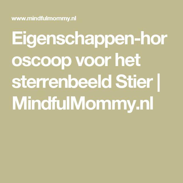 Eigenschappen-horoscoop voor het sterrenbeeld Stier | MindfulMommy.nl