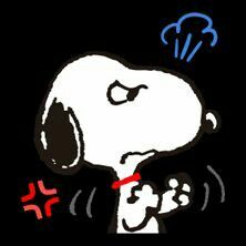 Angry Snoopy We all have our moments. Even our pets. Ha!! Ha!! Theincensewoman