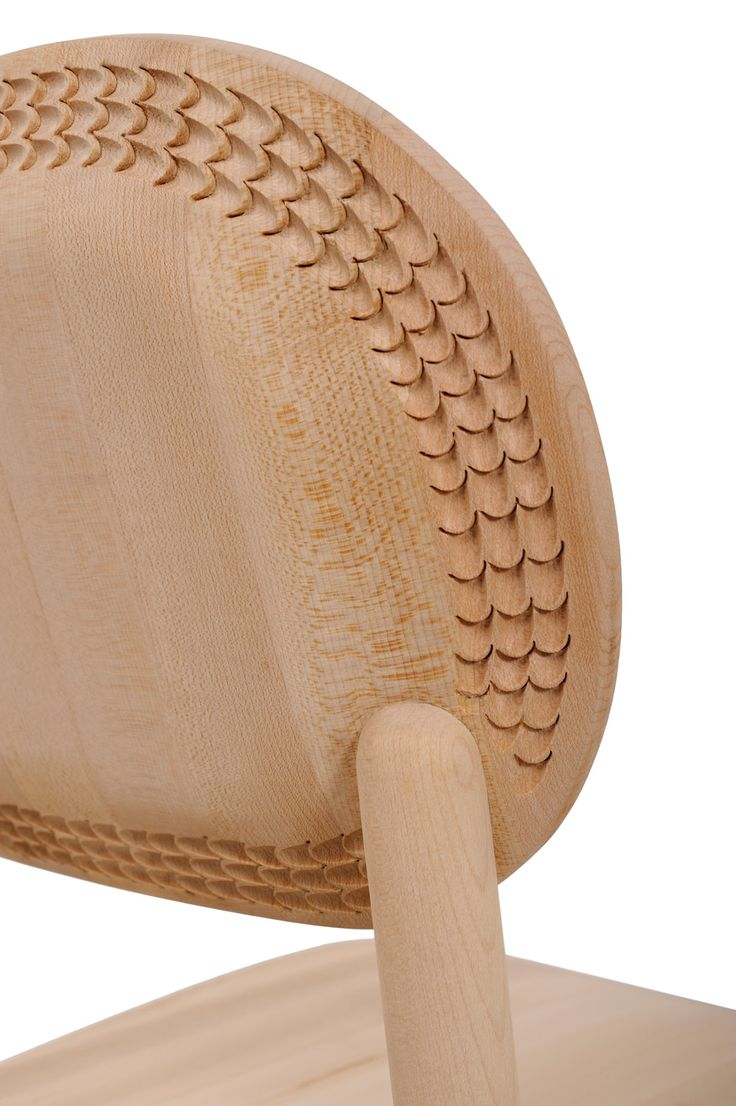 monica förster explores bosnian woodcarving techniques with furniture for ZANAT