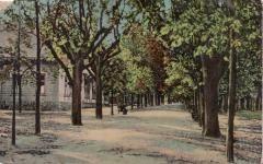 Az Erszébet-kert 1910 körül
