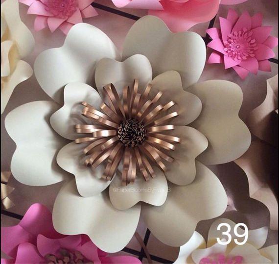 70 besten paper flower backdrop bilder auf pinterest for Blumen fliegen
