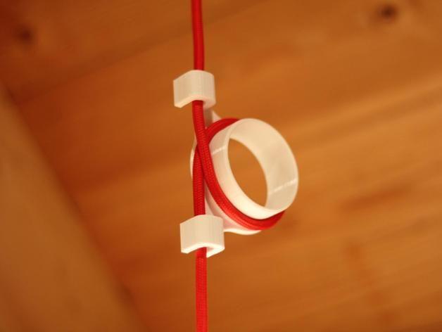 Cable Shortener For Ceiling Lamp Ikea Lamp By Frankenwaeldler Thingiverse 3d Printing Diy Ikea Lamp Ceiling Lamp