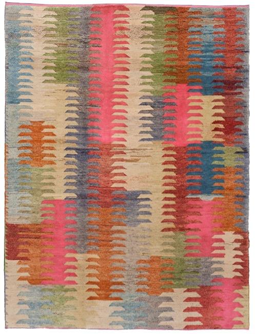 Old Yarn Kilim Rug