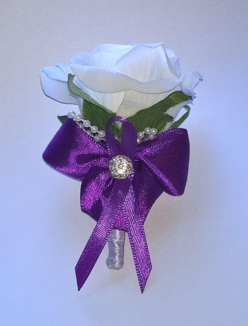 Wedding boutonniere by Weddingcraftlife on Etsy
