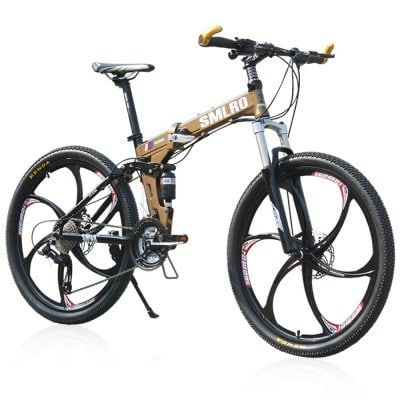 Just US$709.65 + , buy SMLRO MX980 26 inch Folding Mountain Bike online shopping at GearBest.com.