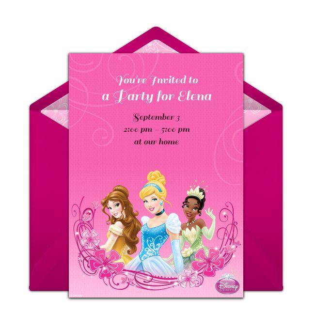 194 best princess birthday ideas images on pinterest | princess, Birthday invitations
