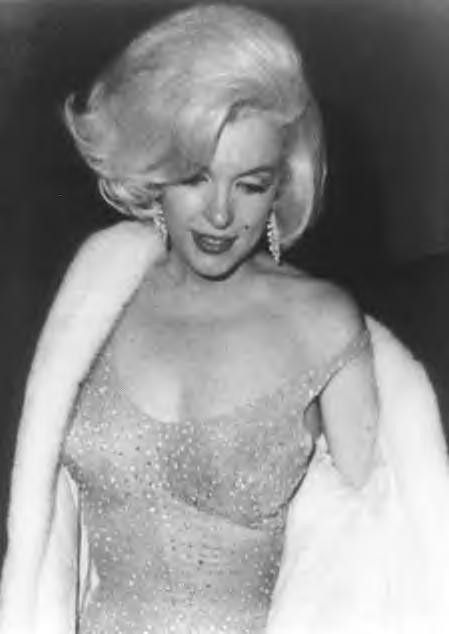 Marilyn at JFK birthday gala at Madison Square Garden in NY - May 19, 1962