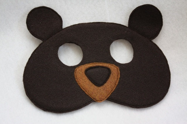 Bear Mask- CHILD.