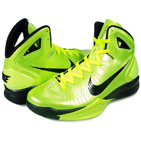 Nike Hyperdunk 2010 Mens Highlighter Yellow Volt via Polyvore