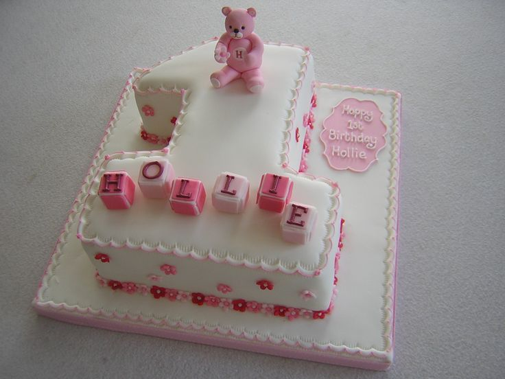 first birthday cake number one - Google Search
