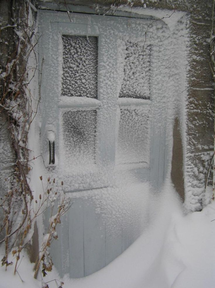 Reminds Me Of The Blizzard Doors Were Snowed Shut And Windows You Couldnt See Outside
