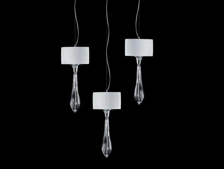 SOFFIO Lampada a sospensione in cristallo Collezione Soffio by Aiardini Illuminazione