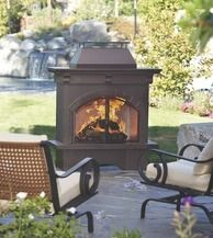 Classic Metal Wood Burning Outdoor Fireplace From Orchard Supply Hardware 299 99 14 Off