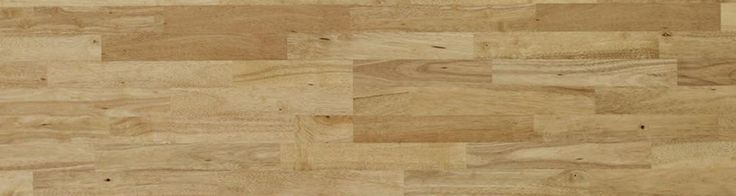 Woodline Parquetry solid wood flooring - Hevea 3 Strip