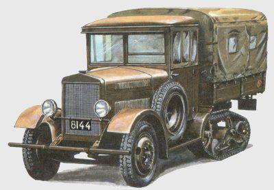 Wz.34 halftrack car, pin by Paolo Marzioli