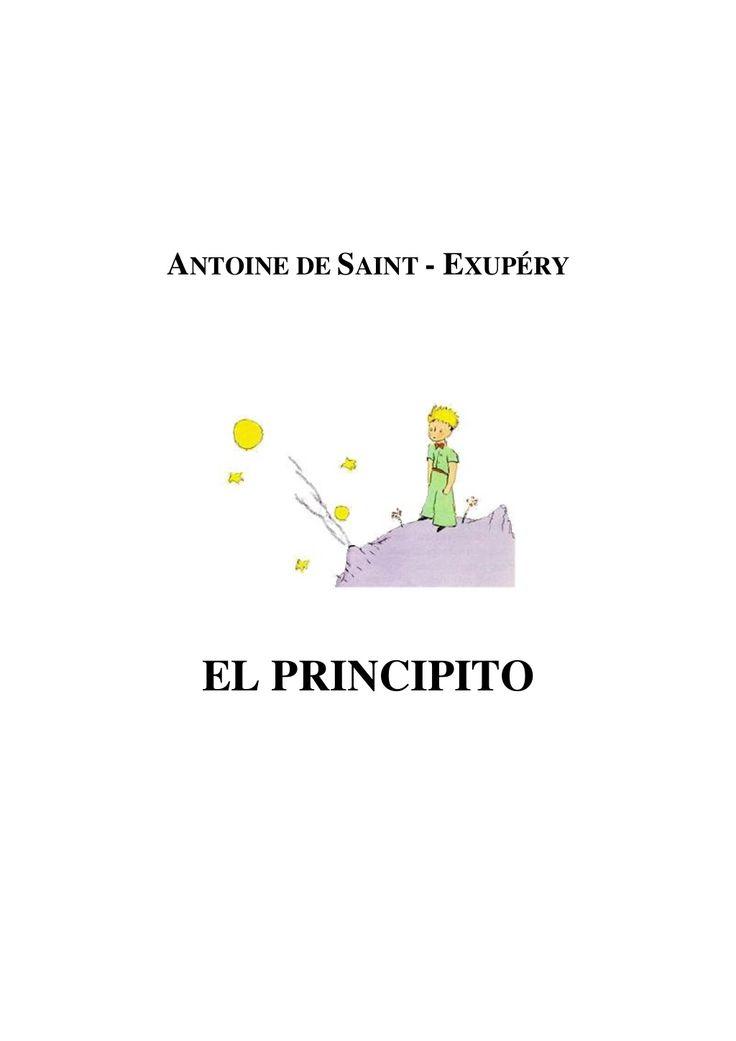 El Principito - Antoine De Saint by vadmanh via slideshare