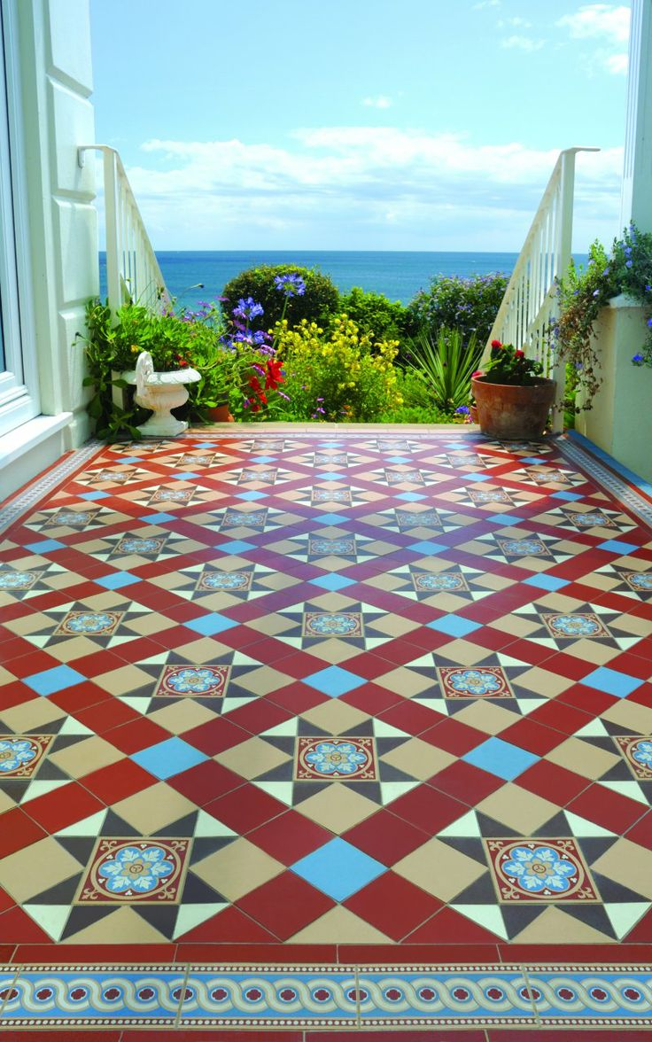 22 best spanish floor tiles images on pinterest tiles flooring original style blenheim geometric design with encaustic style tile together with telford border dailygadgetfo Images