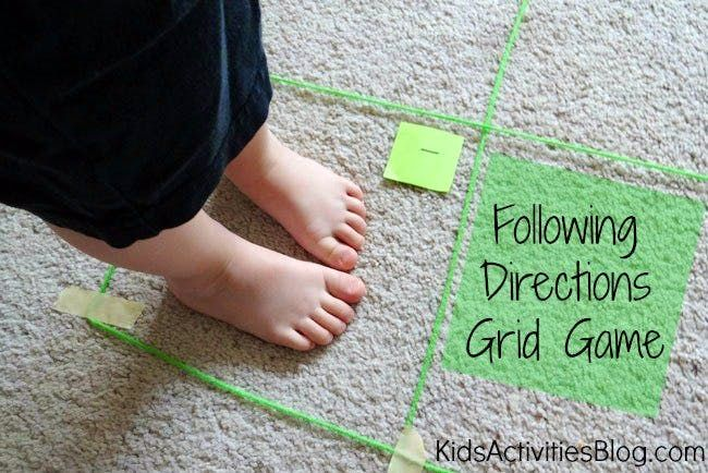 A map game can help your child learn the important life skill of map reading. This fun activity combines following directions with map skills activities.