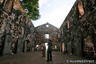 St. Paul's Church in Melaka - Malacca City Attractions
