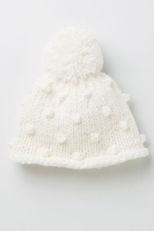 Buy Cream Bobble Hat (0-18mths) from the Next UK online shop