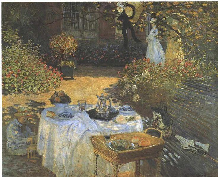 Monet - Das Mittagsmahl  The Dinner