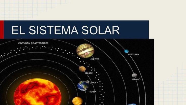 El sistema solar by Maria Laura Llanes Bustamante