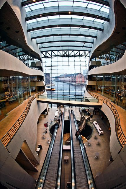 """Copenhagen Library. I loved Copenhagen! The Danes proudly call their city, """"The Jewel City of Europe"""""""