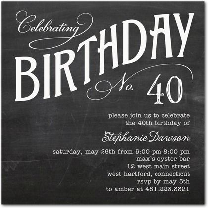19 best invitations images on pinterest | birthday party ideas, Birthday invitations