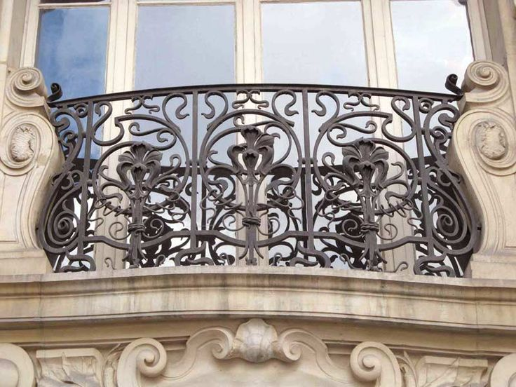 44 best wrought iron images on pinterest wrought iron for French balcony railing