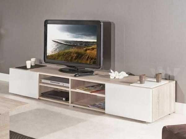 Meuble Tv Et Table Basse Assortie De Meuble Tv Bois Blanc Vieilli Le Meilleur De Meuble Tv Bo En 2020 Meuble Tv Et Table Basse Mobilier De Salon Meuble Tv Bois