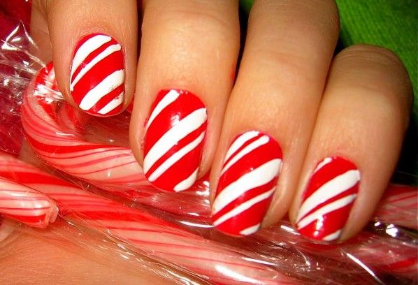 easy cute christmas nail art designs for beginnerstumblr