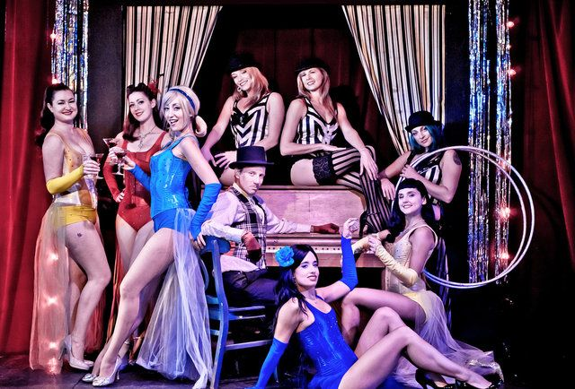It's possible that you'll get pulled up on stage and spanked in these New Orleans burlesque shows.