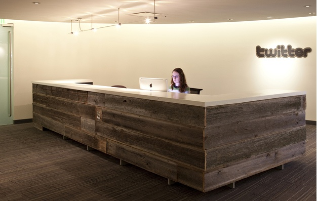 Cool Front Office Desk From Reclaimed Timbers Office