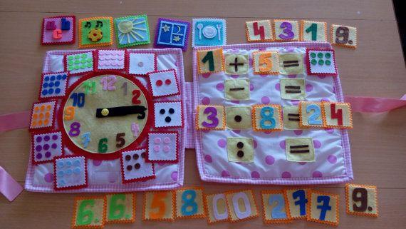 Montessori activities Preschool toy activities quiet book for