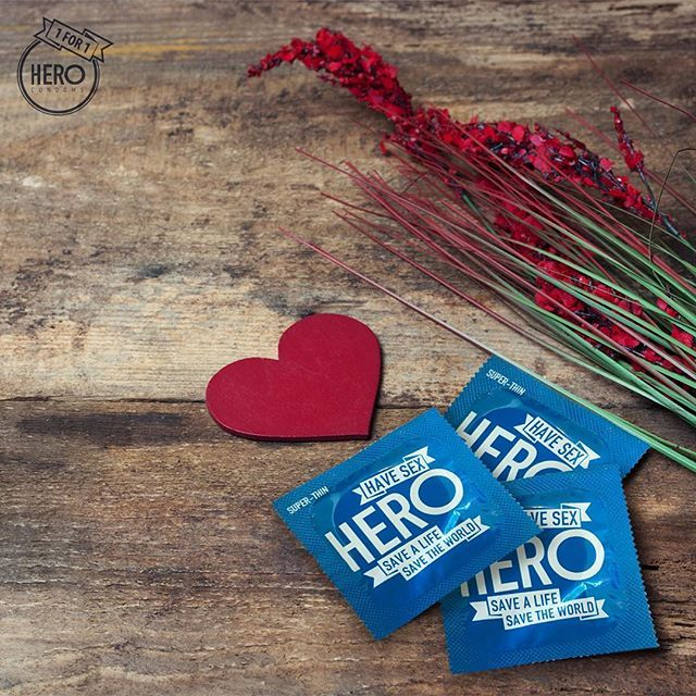 Don't forget HERO this Valentine's Day.  Available at @colessupermarkets @woolworths_au selected @igaaustralia stores as well as Amcal Pharmacies throughout Australia and Countdown stores in New Zealand.  #herocondoms #makelovechangetheworld