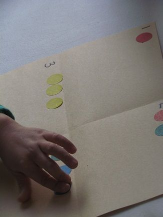 Counting sticker dots