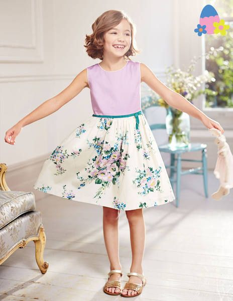 Vintage Prom Dress 33366 Special Occasion Dresses at Boden. Beautiful little girls dress ideal for parties, weddings, christenings or your summer holidays.