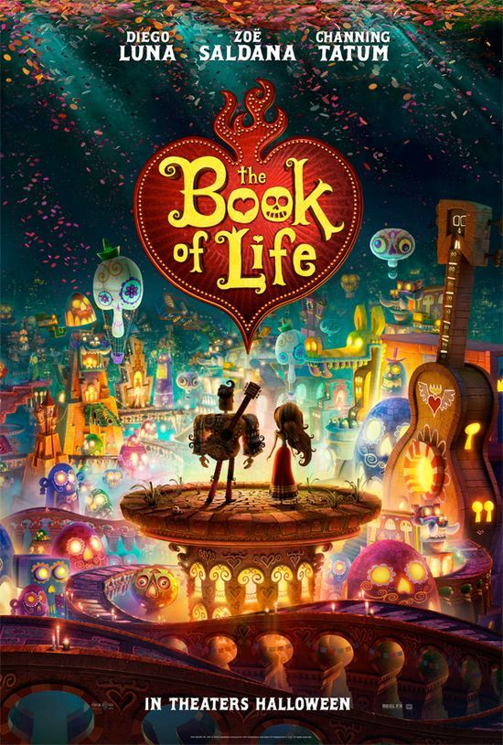 The Book of Life - Trailer und Poster - http://www.dravenstales.ch/the-book-of-life-trailer-und-poster/