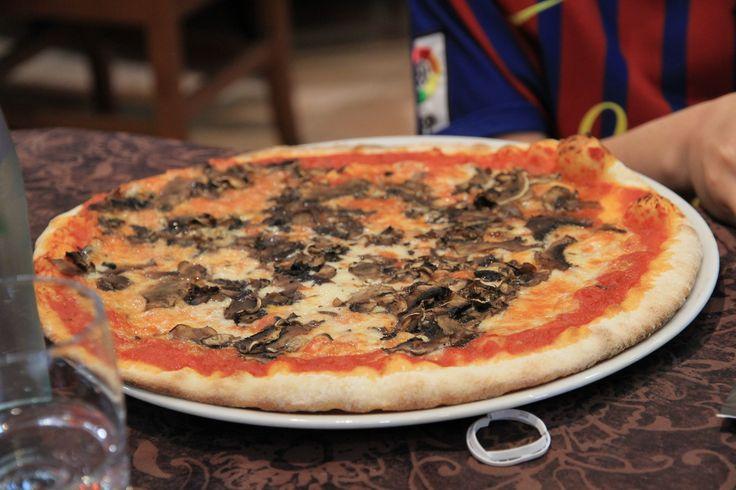 Roma - Mantarlı İtalyan Pizzası / Rome - Italian Pizza Mushroom