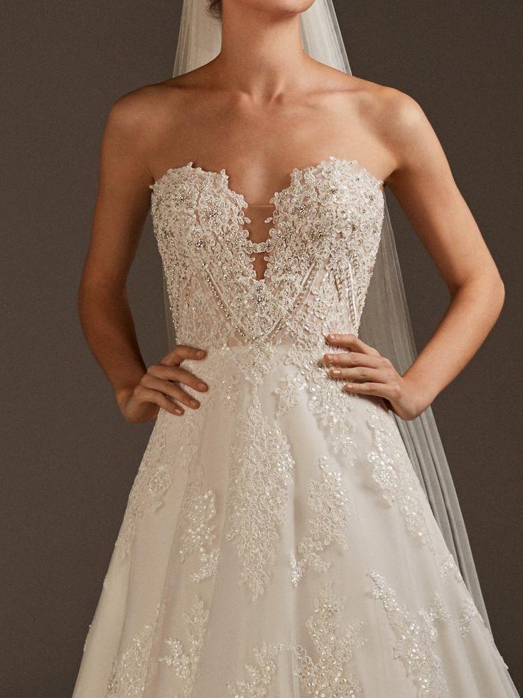 NAMAKA in 2020 Lace wedding guest dress, Pronovias