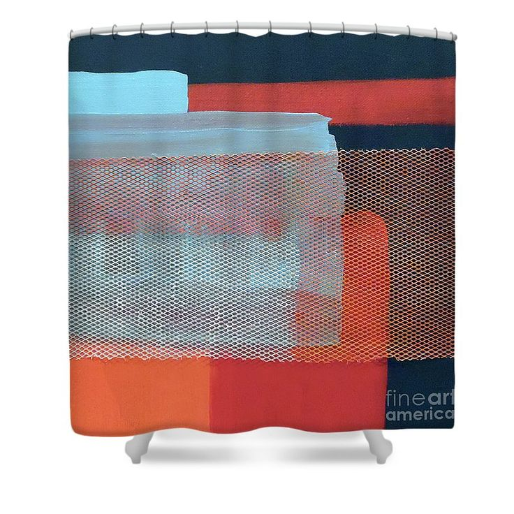 Elegant In The Navy Shower Curtain For Sale By Jilian Cramb   AMothersFineArt