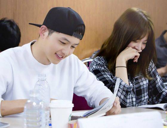 Song Joong Ki and Song Hye Gyo pair up for the first script reading for…