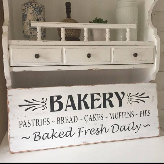 Kitchen Signs For Sale: Best 25+ Bakery Sign Ideas On Pinterest