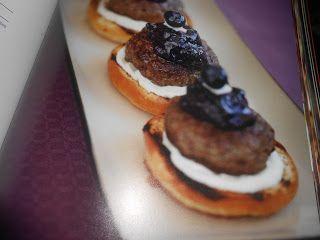 """Le Chef Pierre D'Iberville: Burger """"Cocktail de fantaisie"""""""