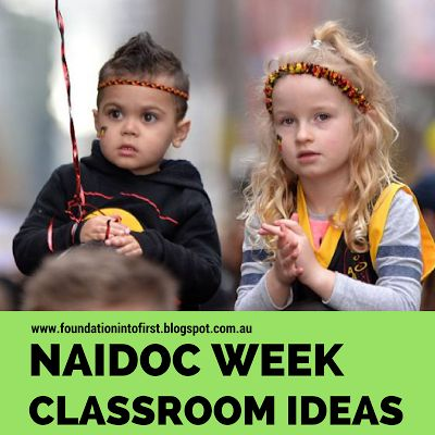 NAIDOC Week classroom ideas for your students. Lots of primary classroom ideas and activities.