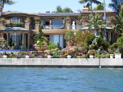 Celebrity homes tour newport beach